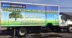 2002 International 4300 Shred-Tech MDS-25GT