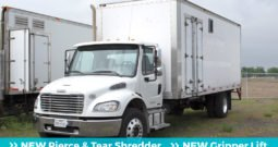 2012 Freightliner M2 Shredfast PT-125 – NEW Shredder & Lift